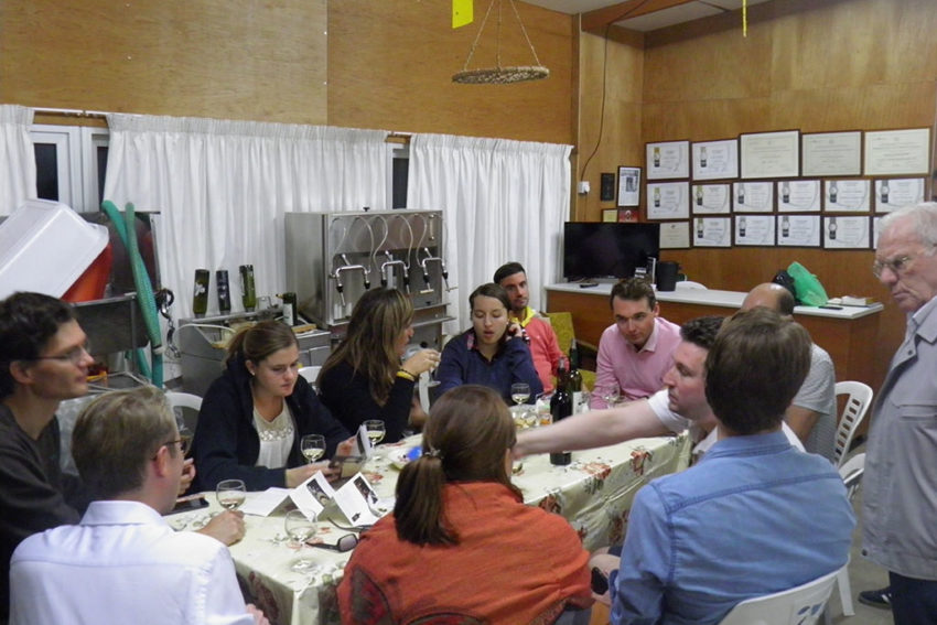 Erimoudes Winery - Rotary club - England - wine tasting - Cyprus